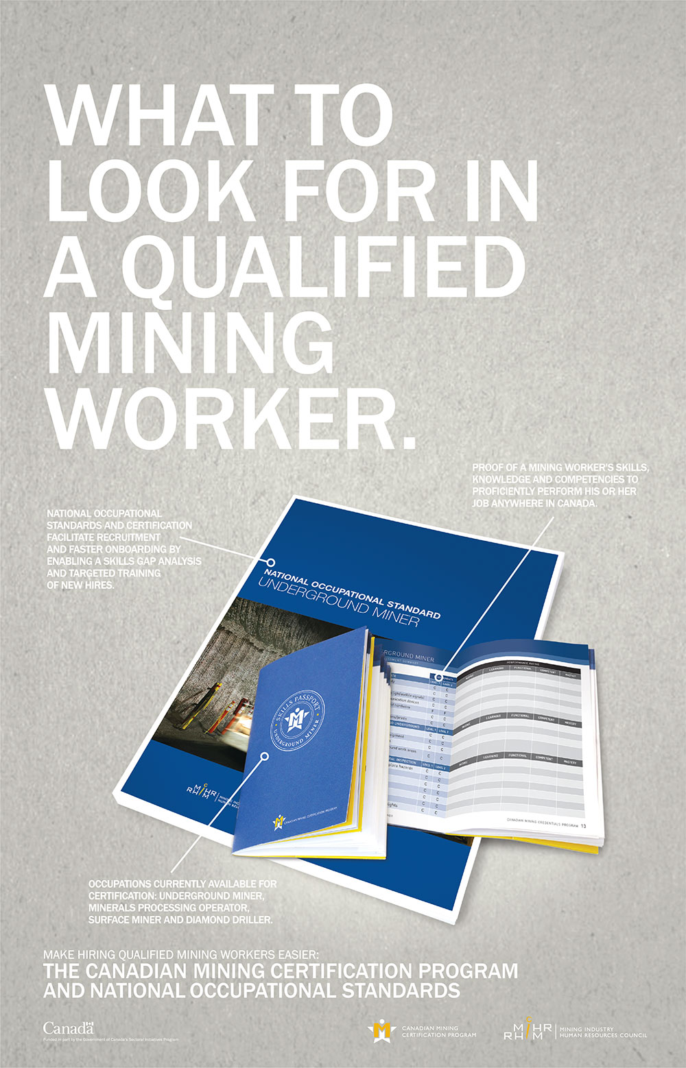 Mining industry human resources council mihr clever samurai we help them brand and promote a wide range of programs some of which include the renowned canadian mining certification program labour market research 1betcityfo Images